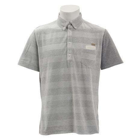 ロックデュード(ROCK DUDE) ゴルフウェア メンズ ベロアポロシャツ 11-144300-010 (Men's)