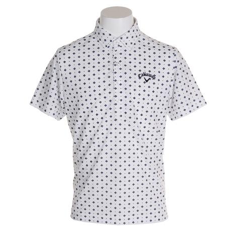 キャロウェイ(CALLAWAY) ドットプリント半袖ポロシャツ 241-9257501-030 (Men's)