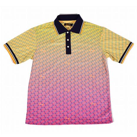 【ポイント最大14倍!0のつく日限定!エントリー要】レザレクション グラデーションポロシャツ RR20SSMP01 Y/P (Men's)