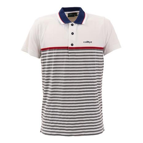 シェルボ(CHERVO) ゴルフウェア メンズ ACERBO 半袖ポロシャツ 031-29444-004 (Men's)
