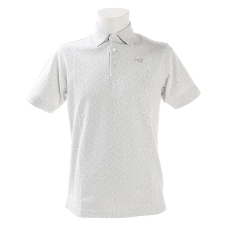 モコ(MOCO) ゴルフウェア メンズ MCフラワ-JQ半袖シャツ 21-2191241-05 (Men's)