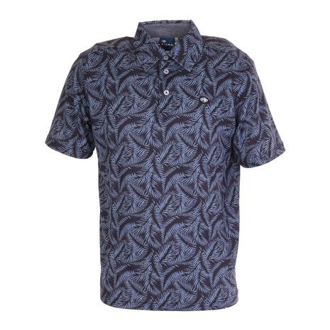 フィドラ FIDRA 評判 休日 ゴルフ ポロシャツ Lightest FD5KTG23 NVY シャツ メンズ leaf