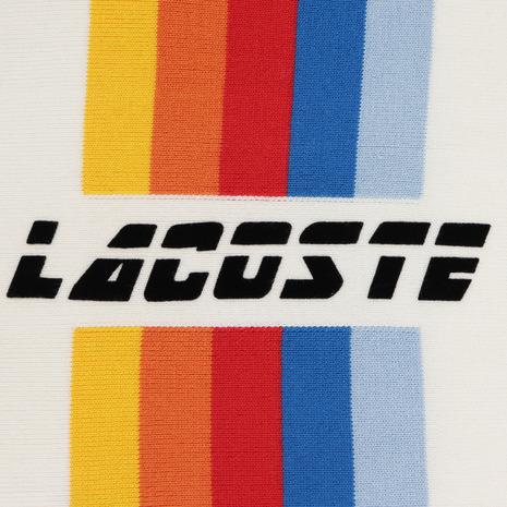 ラコステ(LACOSTE) レインボーボーダークルーネックカットソー AH3756L-8ZX (Men's)
