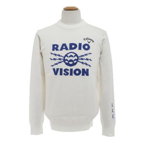 キャロウェイ(CALLAWAY) 18Mラジオビジョンジャカードクルーネックニット 241-8260504-030 (Men's)