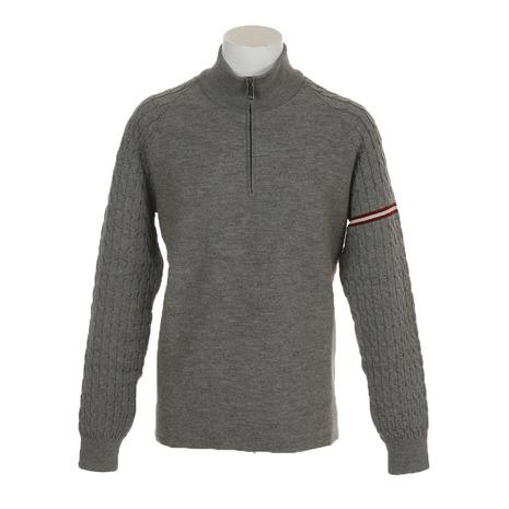 【ポイント最大14倍!0のつく日限定!エントリー要】PHIL PETTER ゴルフウェア メンズ 長袖セーター 71807 GRY (Men's)