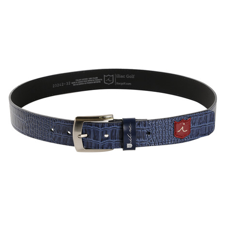 イリアックゴルフ(iliac) BELT THE VENICE BUCKLE BELT-AXURE (Men's)