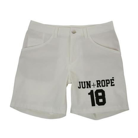 ジュンアンドロぺ(JUN&ROPE) チノストレッチプリント入りショートパンツ ERS5807-10 (Lady's)