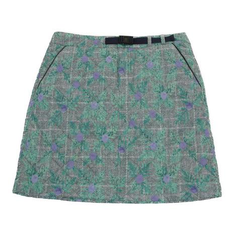 クレールプリュス(CLAIR+PLUS) ゴルフウェア レディース チェック中綿スカート 92-7182040-81 (Lady's)