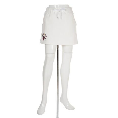 【8/5限定!エントリーでP10倍~】エディットオブキウィ(edit of KIWI) ゴルフウェア ニューキウィストリートライクスウェットスカート 83EK3SK01100L-C001 (Lady's)
