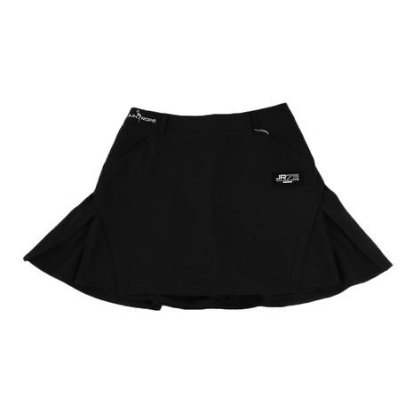 ジュンアンドロぺ(JUN&ROPE) ゴルフウェア レディース 脇レイヤードスカート ERC59010-01 (Lady's)
