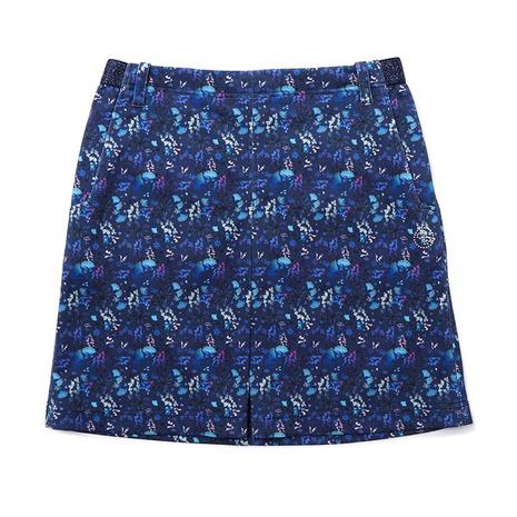 クレールプリュス(CLAIR+PLUS) ゴルフウェア レディース フラワースカート 92-7182840-98 (Lady's)