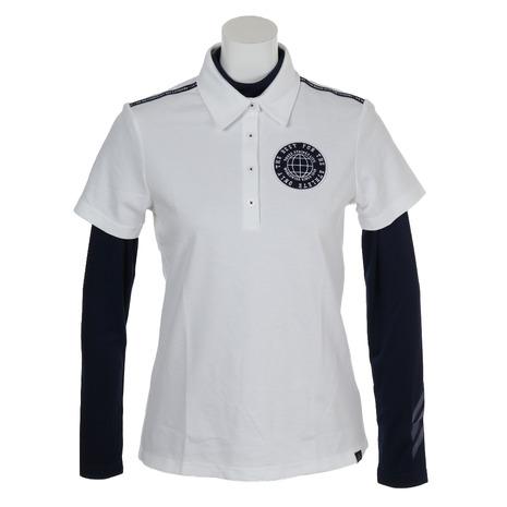 アディダス(adidas) ACエンブレムレイヤードシャツ FVF00-DW7630W/cN (Lady's)