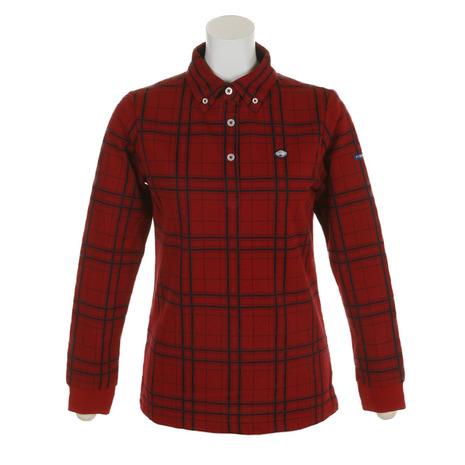 フィドラ(FIDRA) 先染めチェックシャツ FI38UG06 RED (Lady's)