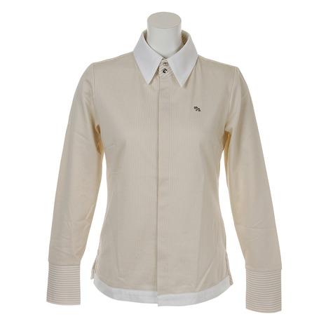 ヒールクリーク(HEAL CREEK) Lピケストライプシャツ 002-27311-052 (Lady's)