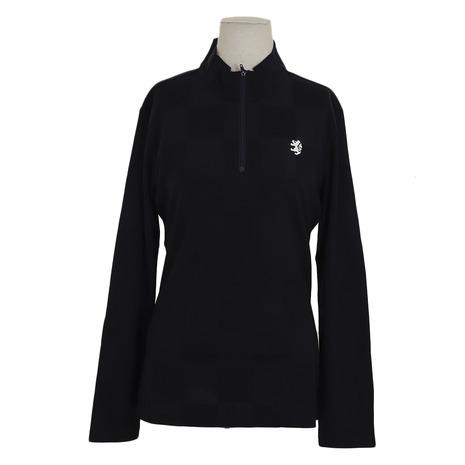 アドミラル(Admiral) ゴルフウェア レディース チェックリンクス L/S ZIPシャツ (Lady's)