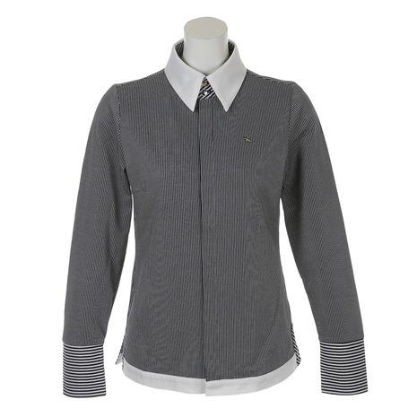 ヒールクリーク(HEAL CREEK) Lピケストライプシャツ 002-27311-098 (Lady's)