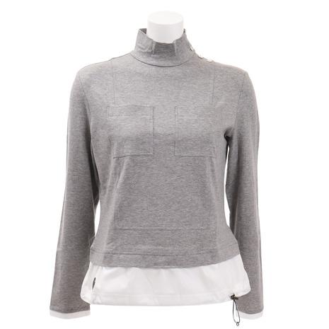 ランバン(LANVIN) (Lady's) ゴルフウェア レディース レディース ポケット付き VLN1035H5N-GY02 長袖シャツ VLN1035H5N-GY02 (Lady's), 石の里 SiN:1e59d3a0 --- sunward.msk.ru