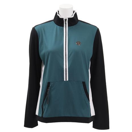 ランバン(LANVIN) ゴルフウェア ゴルフウェア レディース フロントポケット 長袖シャツ (Lady's) VLN1053X7N-GR03 レディース (Lady's), リットウシ:5eeefa80 --- sunward.msk.ru