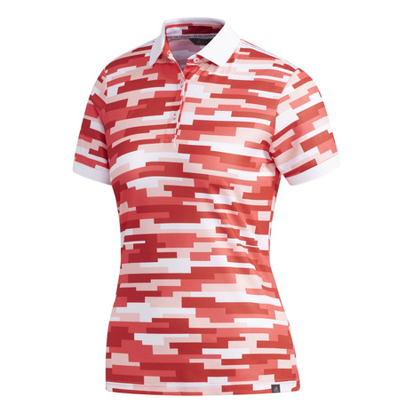 アディダス(ADIDAS) AC カモプリント ポロシャツ FVE89-DW6415R (Lady's)