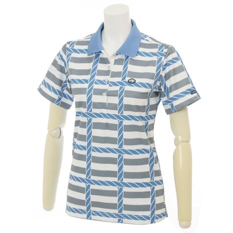 フィドラ(FIDRA) 半袖ポロシャツ 16SS Ws ロープ柄ポロ I211257 WHITE(レディース)