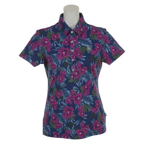 優先配送 マンシングウエア(MUNSING WEAR) WEAR) デュアルコンフォートフラワープリント半袖ポロシャツ (Lady's) MGWLJA20-NV00 MGWLJA20-NV00 (Lady's), MATA打太郎ゴルフ:9f2e1a14 --- blablagames.net
