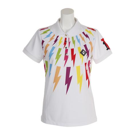 V12 ポロシャツ THUNDER POLO V121910L-CT21-WHT (Lady's)