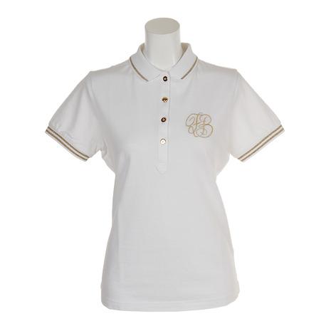 フォーリアブリランテ(FogliaBrillante) ゴルフウェア レディース 半袖ポロ クールマックス FBAL-PO17-W (Lady's)