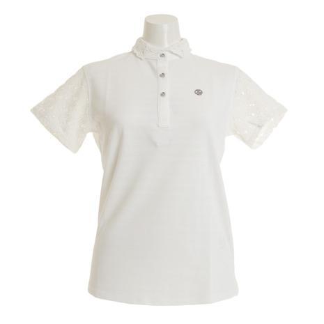 アンパスィ(and per se) ゴルフウェア AFS9619Y2 レディース 半袖ポロシャツ アンパスィ(and AFS9619Y2 per 10 (Lady's), 手ぬぐい 染の安坊:aacc9a70 --- sunward.msk.ru