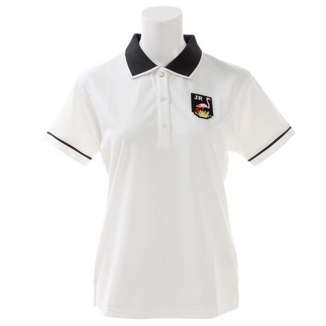 ジュンアンドロぺ(JUN&ROPE) ゴルフウェア レディース パイピング使いポロシャツ ERM29050-10 (Lady's)