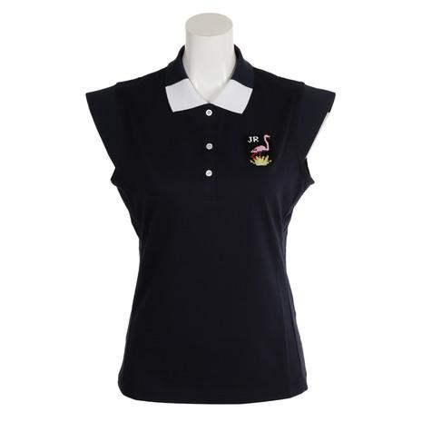 ジュンアンドロぺ(JUN&ROPE) フレンチスリーブポロシャツ ERM49100-40 (Lady's)