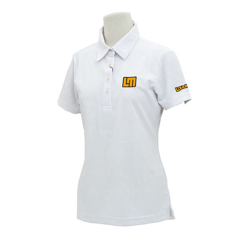 ラウドマウス(LOUDMOUTH) エンボス半袖シャツ 767650-999 半袖 (Lady's)