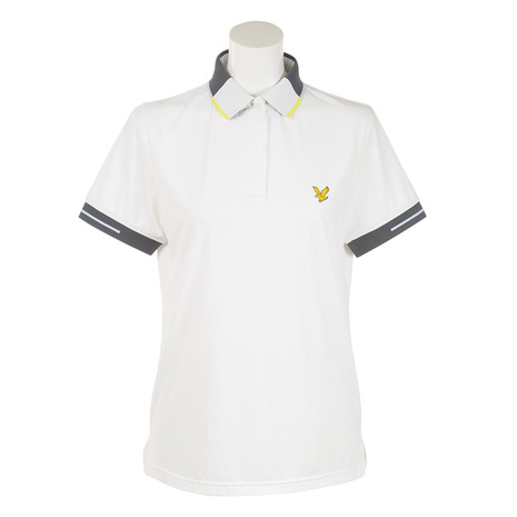 ライルアンドスコット(LYLE&SCOTT) LGW-18S-P05-WHITE 半袖 シャツ (Lady's)