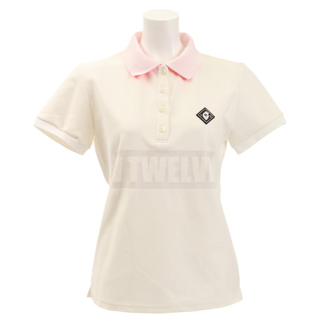 V12 ゴルフウェア レディース UV V12 半袖ポロシャツ (Lady's) V121910L-CT01-PNK (Lady's), 利根町:4f67c5ef --- sunward.msk.ru