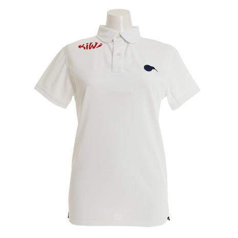 KIWI&CO. ゴルフウェア レディース ラウンドカラーポロシャツ 4 91EK5SP03100L-C001 (Lady's)