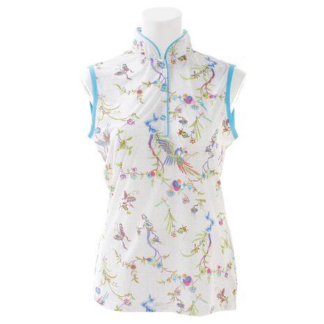 シェルボ(CHERVO) ゴルフウェア (Lady's) レディース レディース ANNAOXA ノースリーブシャツ ゴルフウェア 032-29572-021 (Lady's), ユニクラス:99152275 --- sunward.msk.ru