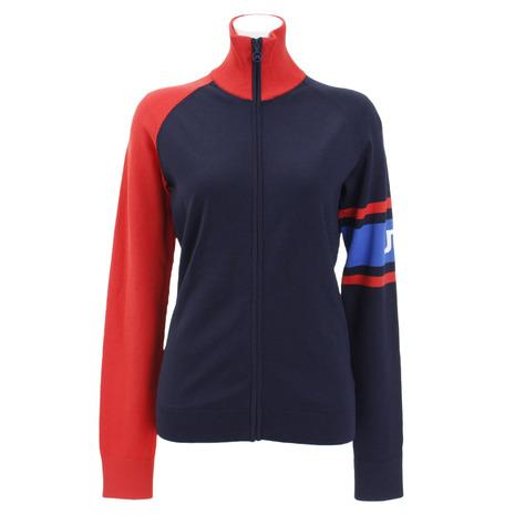 Jリンドバーグ(J.LINDEBERG) ゴルフウェア レディース Raven Viscose 長袖セーター 072-59213-098 (Lady's)