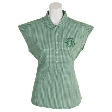 フォーリアブリランテ(FogliaBrillante) ゴルフウェア レディース レディース ゴルフウェア ギンガムチェックシャツ (Lady's) FBAL-PO19-GRN (Lady's), サングラスメガネのeyeone:0ac25791 --- sunward.msk.ru