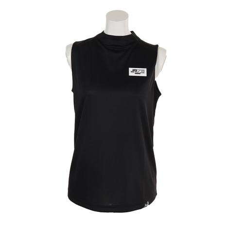 ジュンアンドロぺ(JUN&ROPE) ゴルフウェア レディース スタンドカラーノースリーブシャツ ERM49090-01 (Lady's)