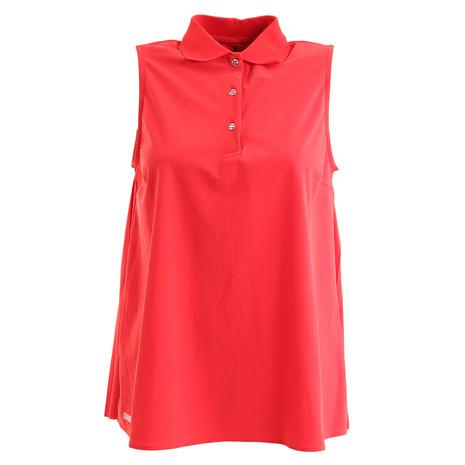 【ポイント最大14倍!0のつく日限定!エントリー要】COLMAR ゴルフウェア レディース ノースリーブポロシャツ 8720-5QE9B-CL42 (Lady's)