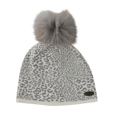 ゴルフィーノ(GOLFINO) Leopard Pompom Hat 3370926-108 (Lady's)