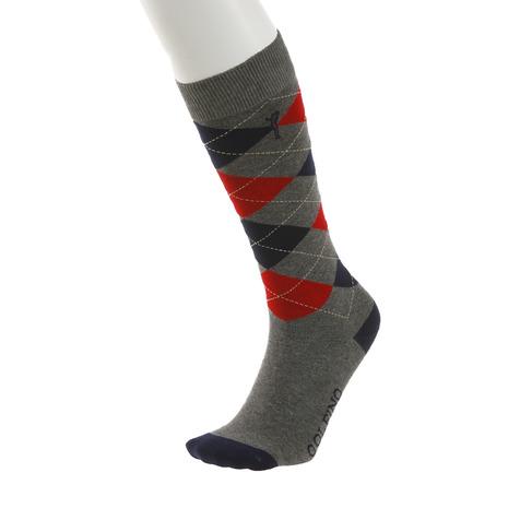 ゴルフィーノ(GOLFINO) Tartan Long Socks 3372226-820 (Lady's)