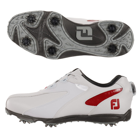 フットジョイ(FOOT JOY) ゴルフシューズ ゴルフシューズ WT/RD EXL SP ボア ゴルフシューズ WT/RD ボア 45187W (Men's), エイトキッド:5b540f69 --- sunward.msk.ru
