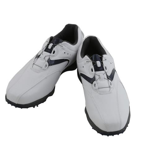 フットジョイ(FootJoy) 16 EXL スパイクボア WT/NV (メンズゴルフシューズ) 45144J (Men's)