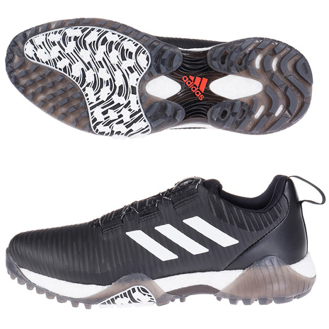 アディダス(adidas) コードカオス ボア ロウ FV2524BK/W (Men's)
