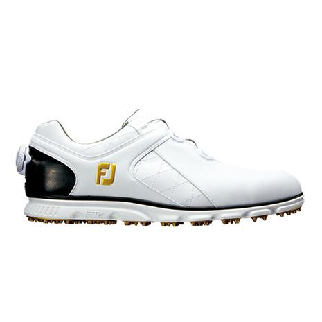 フットジョイ(FootJoy) ゴルフシューズ 17プロSLボア WT/BK (ゴルフシューズ) 56846W 2017年モデル (Men's)