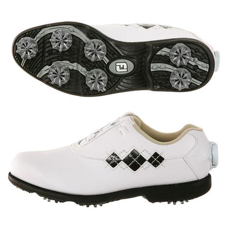 フットジョイ(FootJoy) ゴルフシューズ 18 Eコンフォート ボア WT/BK 98626XW (Lady's)
