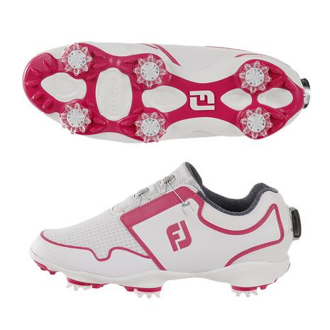 フットジョイ(FOOT JOY) ゴルフシューズ (Lady's) ゴルフシューズ ボア スポーツ TF WT/PI ボア WT/PI 96209W (Lady's), 揖保郡:af6db451 --- sunward.msk.ru