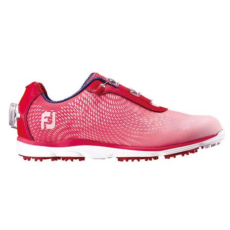 フットジョイ(FootJoy) ゴルフシューズ エンパワー SLボア RD/PI 98009W (レディース) (Lady's)