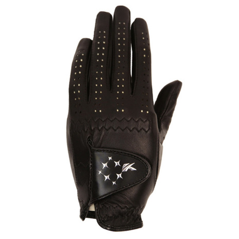 キャスコ KASCO ゴルフ グローブ クラシカルフィットL黒 輸入 レディース GF-1517-L 左手用 レディースグローブ 倉庫