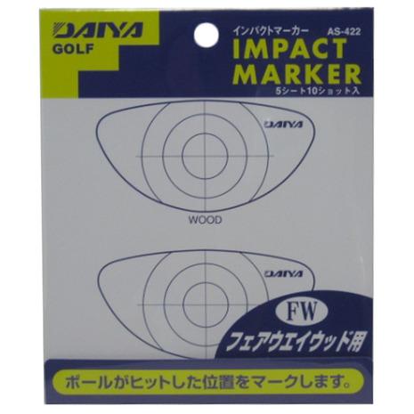 ゴルフ用品 ゴルフ 小物 ヴィクトリアゴルフ おすすめ ダイヤ(DAIYA) インパクトマーカー フェアウェイウッド用 AS-422 (メンズ、レディース)